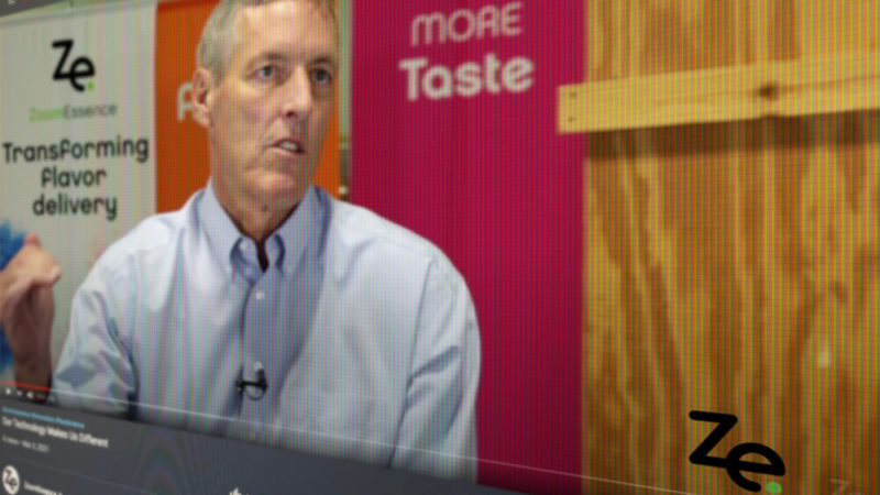 Bob Corbett, CEO, talks about the WOW Factor of Zooming Flavors